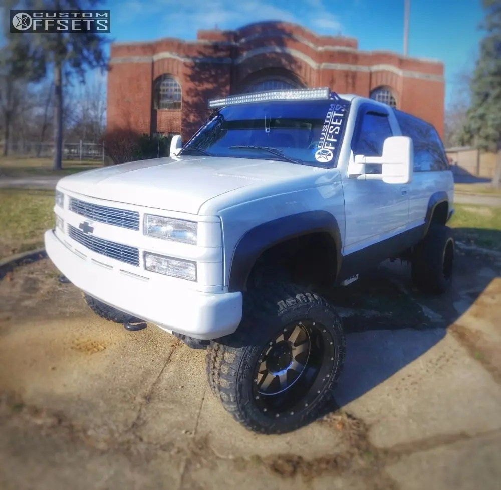 hight resolution of 1 1997 tahoe chevrolet suspension lift 6 gear alloy big block machined accents super aggressive 3