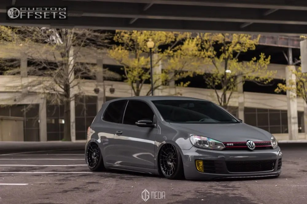Car Rims And Tires Wallpaper 2010 Volkswagen Gti Rotiform Las R Air Lift Performance