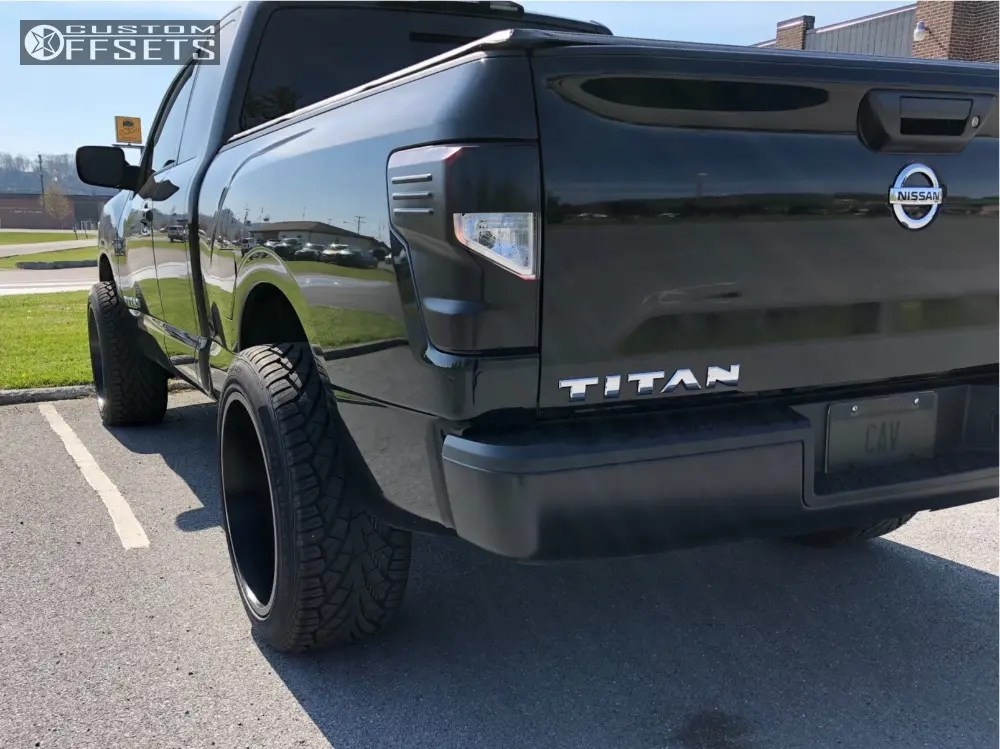 2017 nissan titan wheel offset super