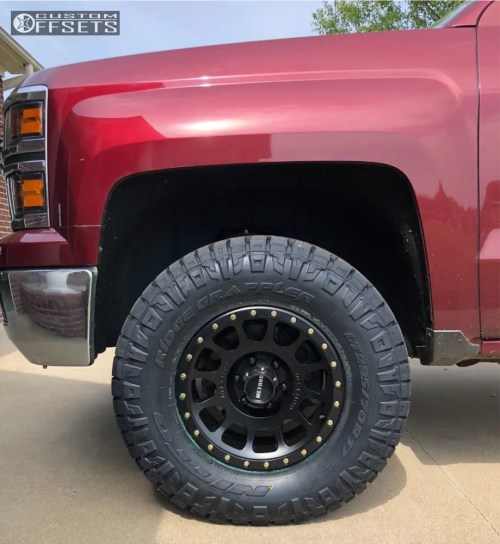small resolution of 1 2014 silverado 1500 chevrolet rough country leveling kit method nv matte black