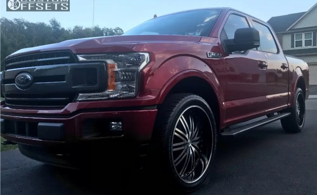 2018 Ford F 150 Cratus Cr008 Stock Stock Custom Offsets