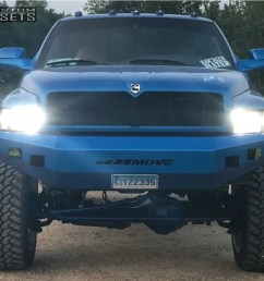 2 1998 ram 2500 dodge superlift suspension lift 5in gear forged f71p1 polished [ 1000 x 824 Pixel ]