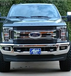 2 2019 f 250 super duty ford readylift leveling kit fuel coupler machined black [ 1000 x 846 Pixel ]