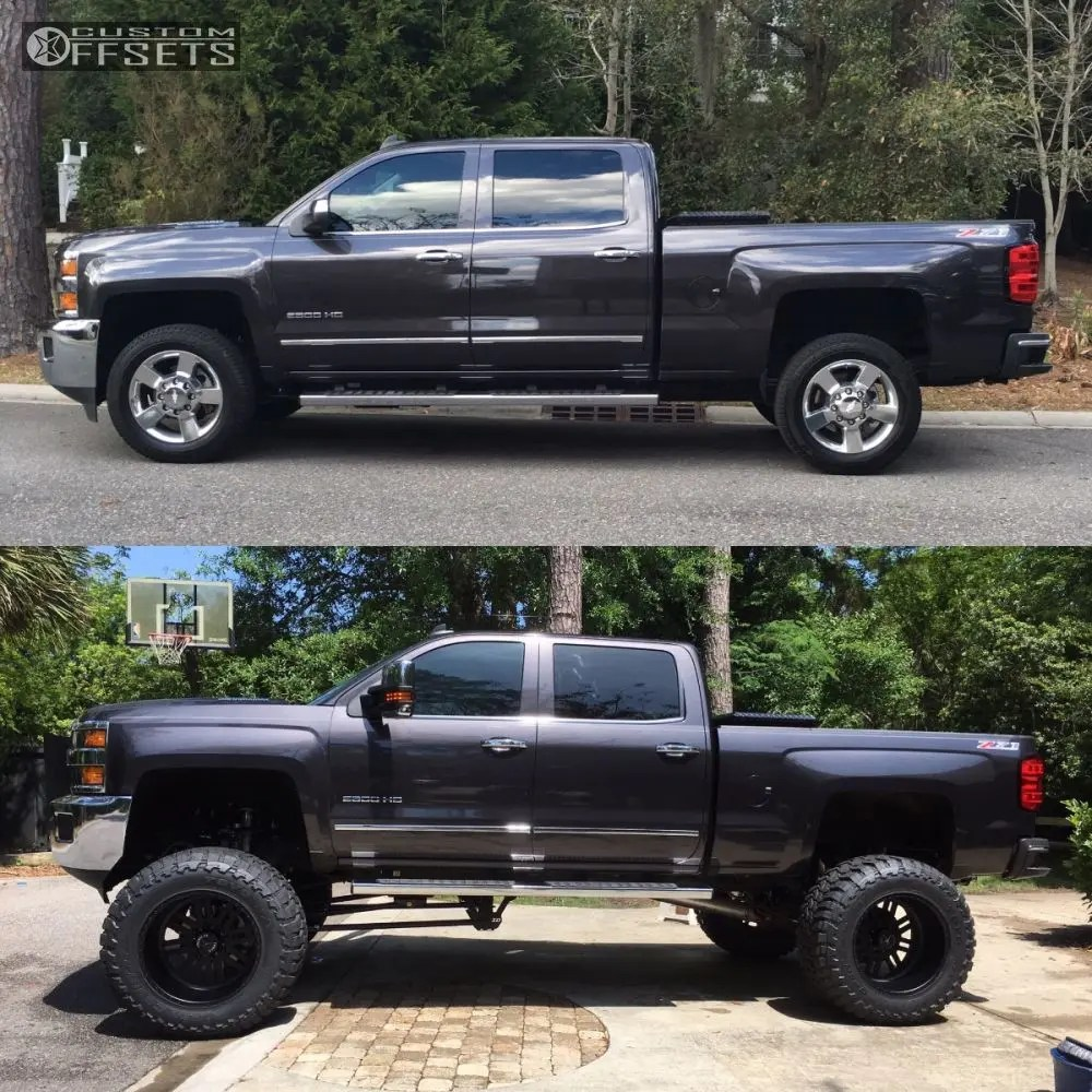 hight resolution of 2 2016 silverado 2500 hd chevrolet lifted 9 american force rebel ss8 black hella stance 5