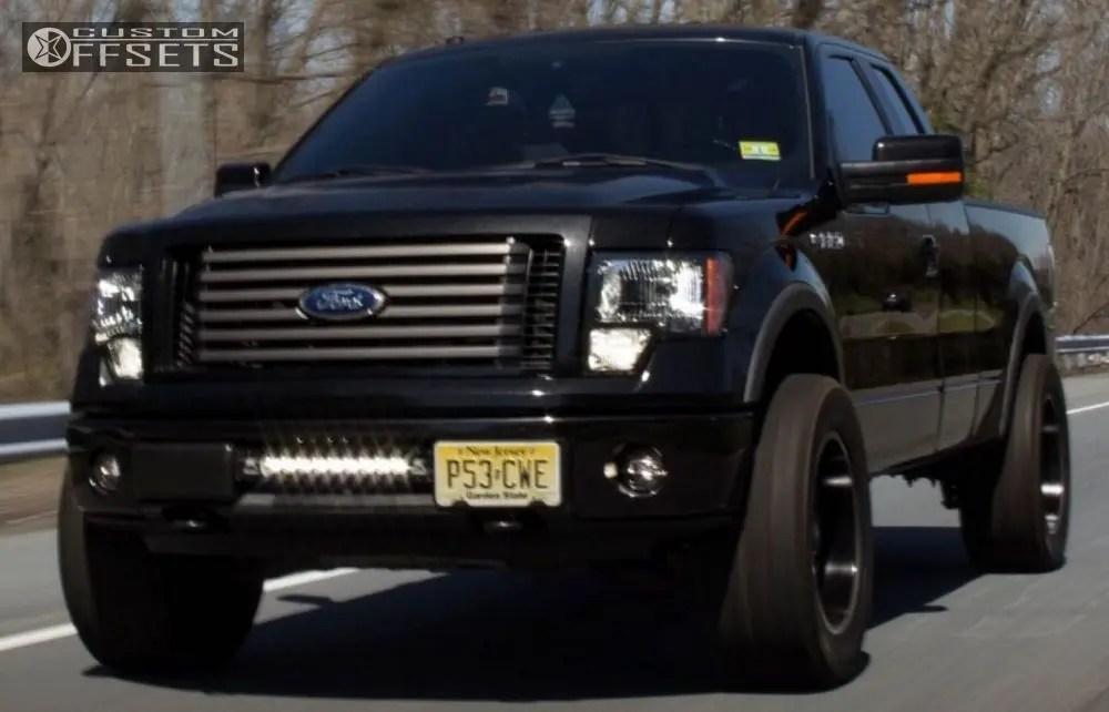 Wheel Offset 2011 Ford F 150 Leveling Kit Custom Rims