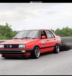 6 1992 jetta volkswagen gli 16 valve raceland coilovers fifteen52 rml snowflake machined accents [ 1000 x 1000 Pixel ]