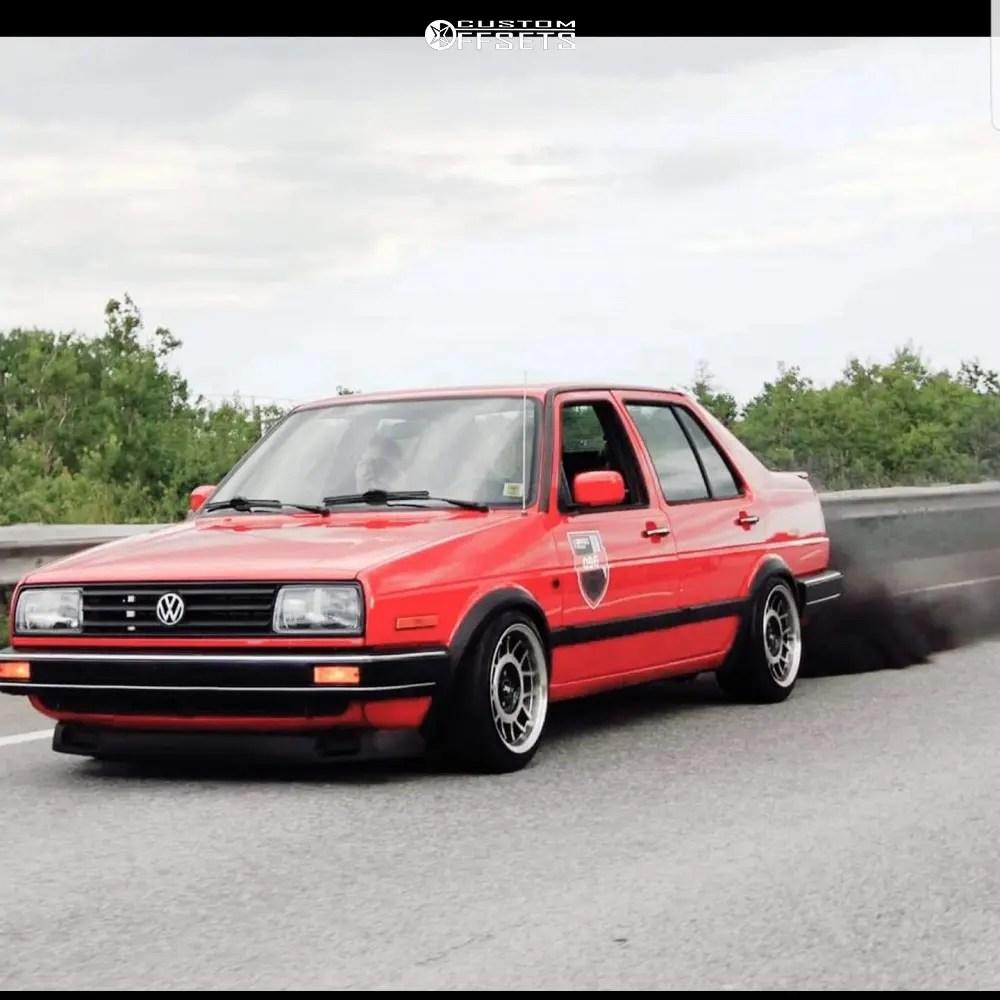 medium resolution of 6 1992 jetta volkswagen gli 16 valve raceland coilovers fifteen52 rml snowflake machined accents