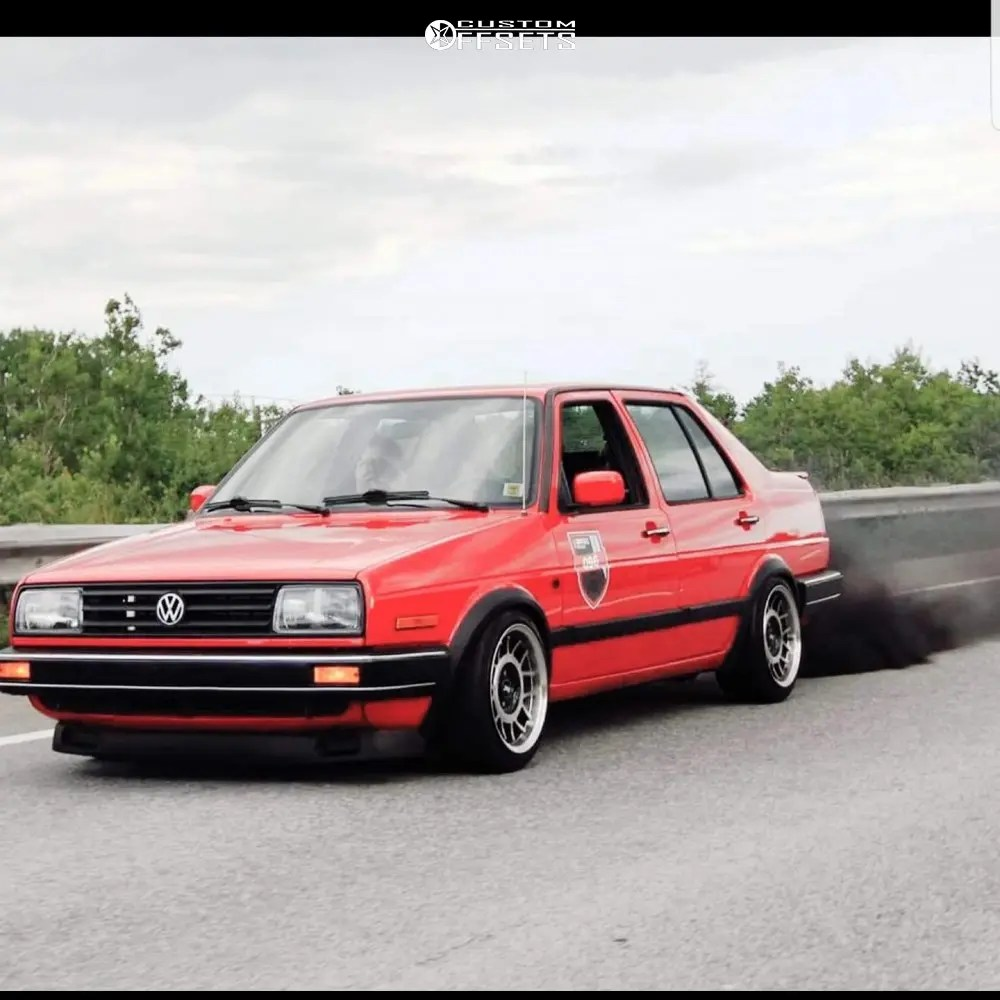 hight resolution of 6 1992 jetta volkswagen gli 16 valve raceland coilovers fifteen52 rml snowflake machined accents