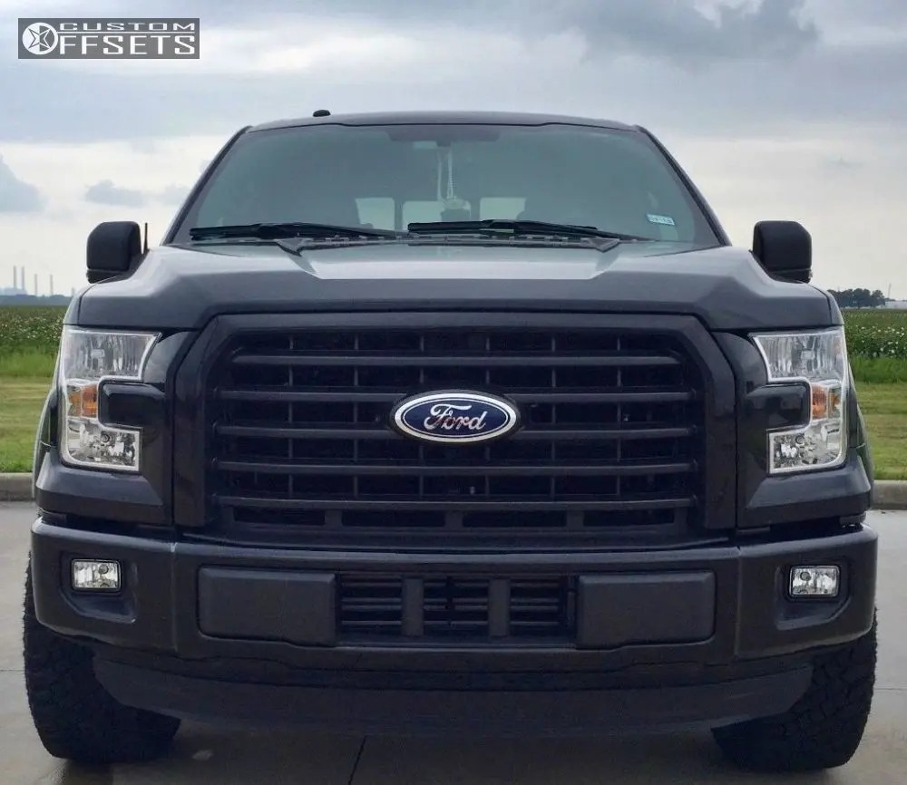 medium resolution of 2 2016 f 150 ford leveling kit fuel vapor black