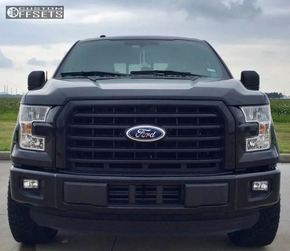 hight resolution of 2 2016 f 150 ford leveling kit fuel vapor black