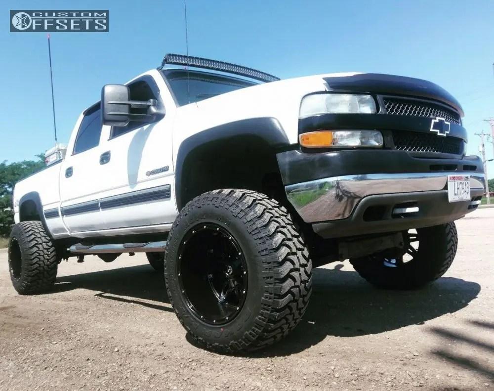 hight resolution of  1 2001 silverado 2500 hd chevrolet suspension lift 8 fuel hostage black hella stance 5