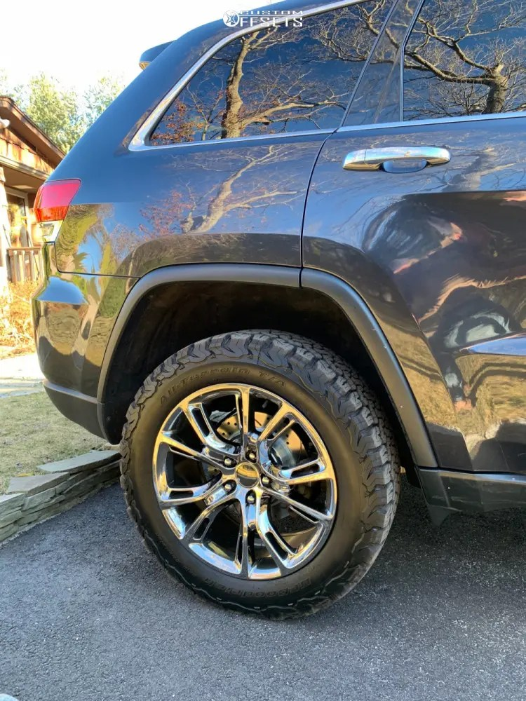 2014 Jeep Grand Cherokee Lifted : grand, cherokee, lifted, Grand, Cherokee, Wheel, Offset, HellaFlush, Suspension, 647045, Custom, Offsets