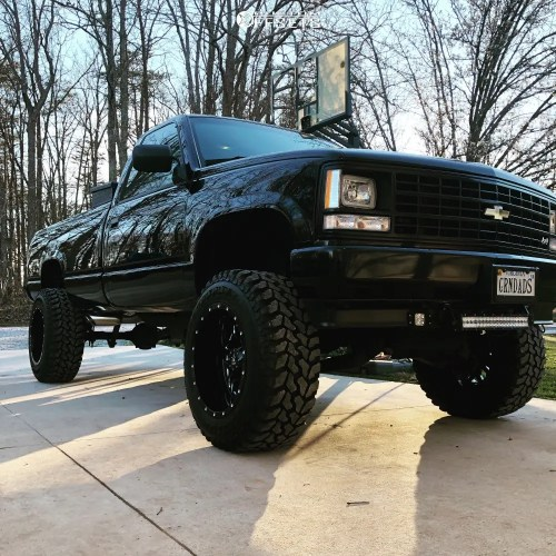 small resolution of 1 1989 k1500 chevrolet bds suspension lift 6in rbp 65r black
