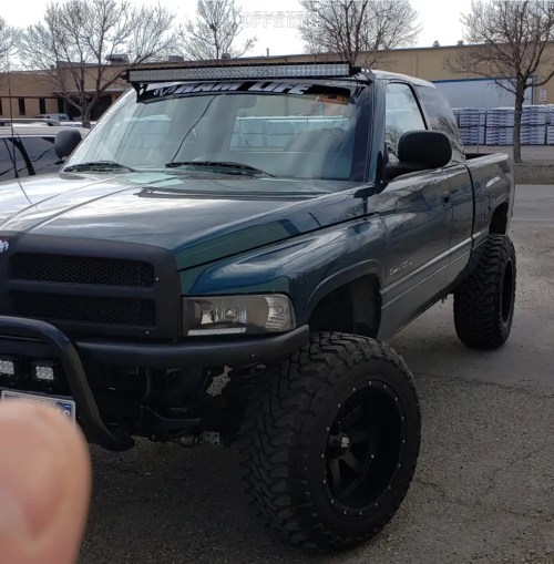 small resolution of 1 1997 ram 1500 dodge rough country suspension lift 3in havok h112 black