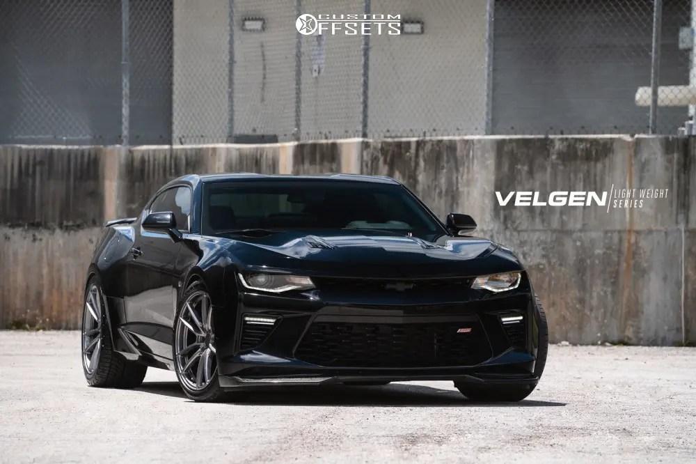 2016 Chevrolet Camaro Velgen Vf5 Ebay Kit Lowering Springs Custom