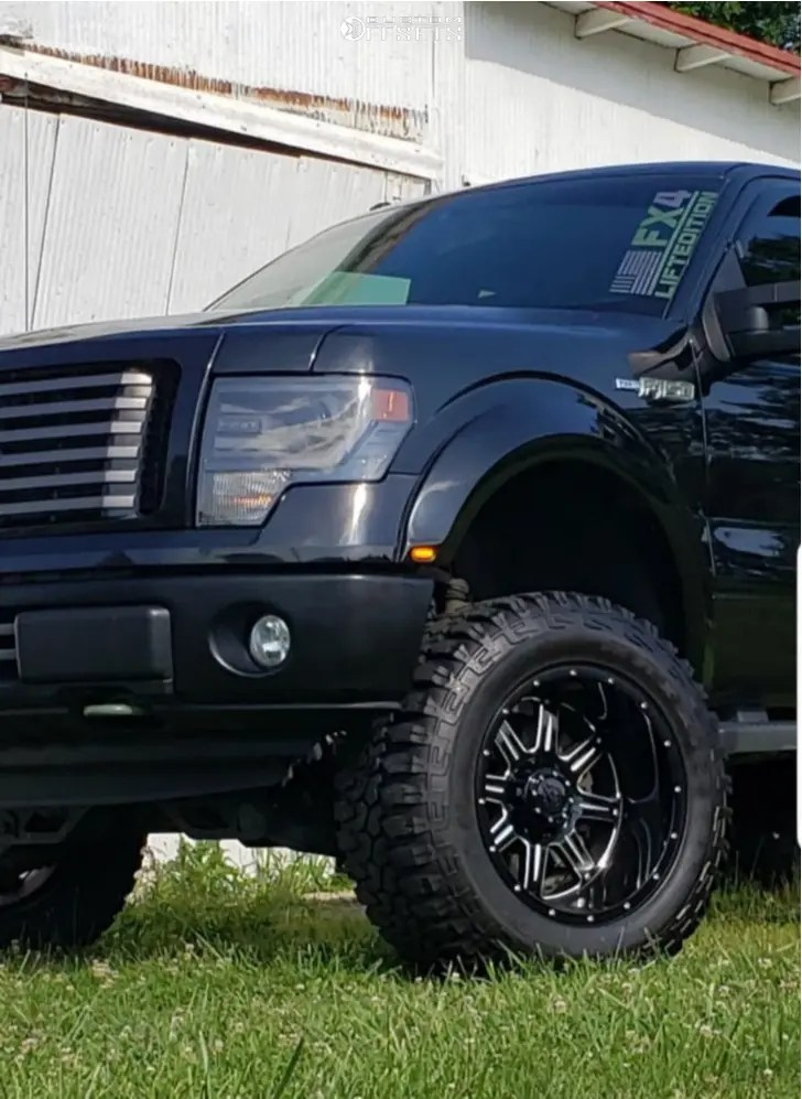2014 F150 Lifted : lifted, F-150, Wheel, Offset, Hella, Stance, Suspension, 729327, Custom, Offsets