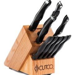 American Made Kitchen Knives Large Islands With Seating Essentials + 5 Set Block | 12 Pieces Knife ...