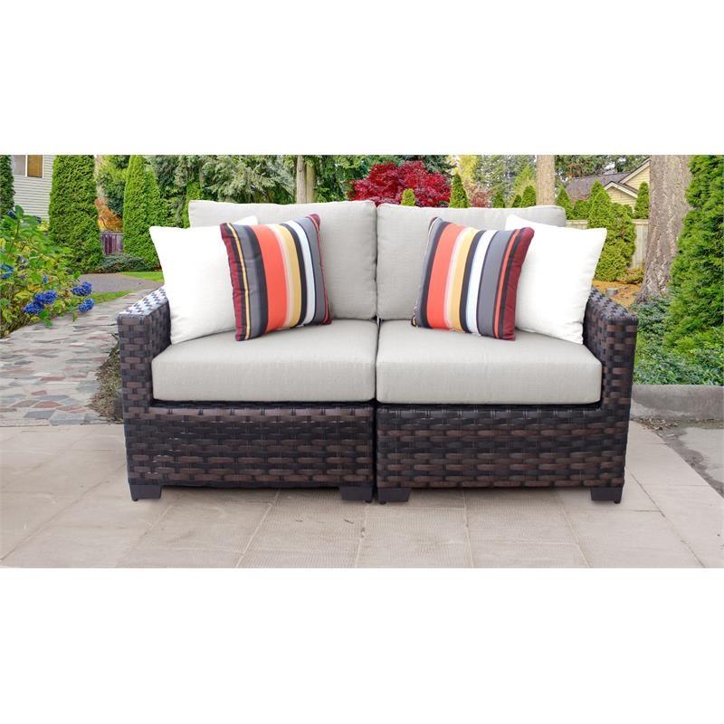 kathy ireland river brook 2 piece outdoor wicker patio furniture set 02a