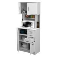 inval engineered wood kitchen microwave