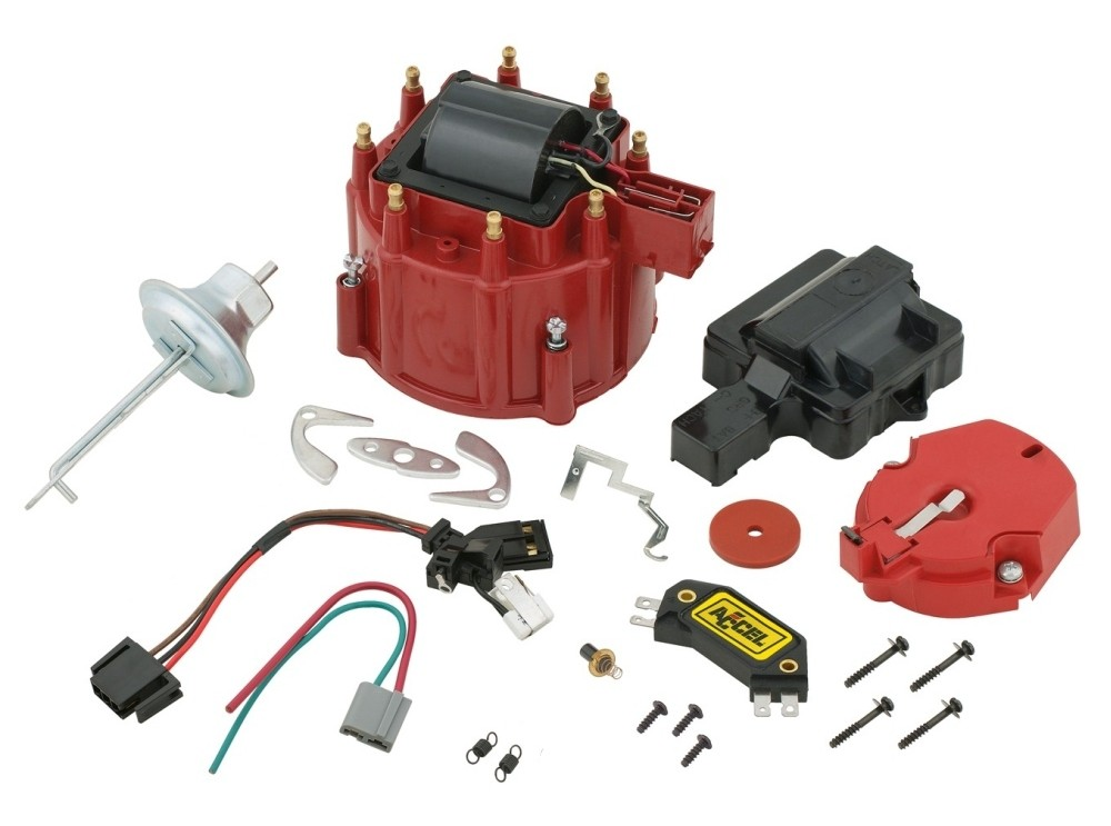 accel hei distributor wiring diagram circuit breaker box 8200 high performance ignition tune-up kit for gm | ebay