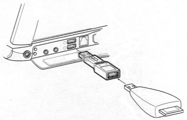 RadioShack 26-721 USB Compact M-F Port Plug Extender
