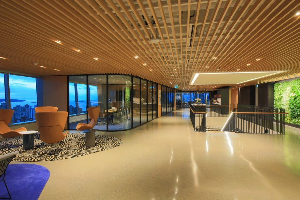 Cool offices in Vancouver McCarthy Ttraults open space
