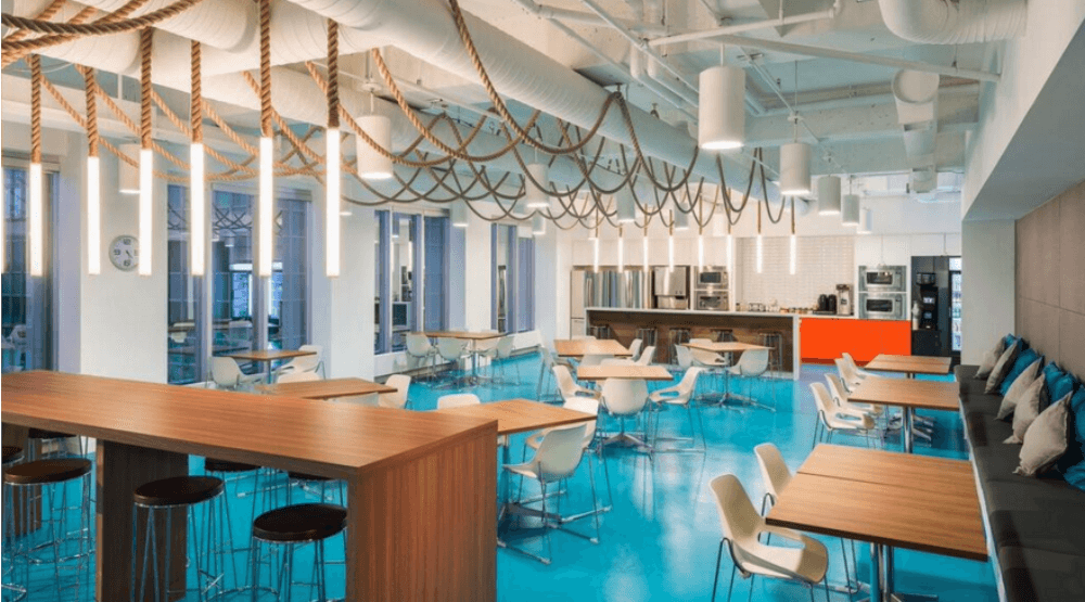 office sitting chairs ikea metal cool offices in vancouver: expedia drops anchor with nautical (photos) | daily hive vancouver