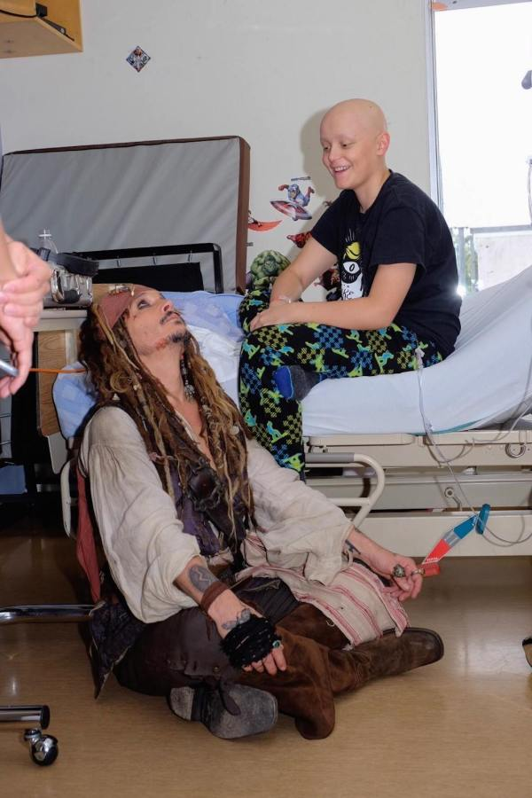 Johnny Depp Children Hospital