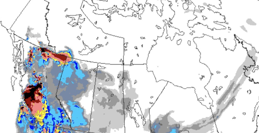 The epa and usfs have created this map to test new data layers of use during fire and smoke events, including air quality data from. This Map Shows How Smoke From Bc Wildfires Is Spreading Across Canada News