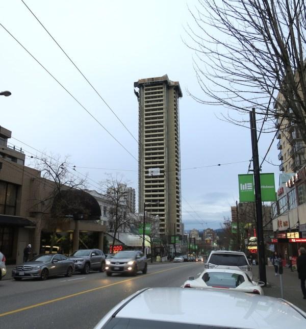 Empire Landmark Hotel Demolition Progressing Quickly