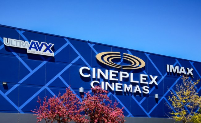 This Is How Cineplex Is Handling The Pandemic At Its