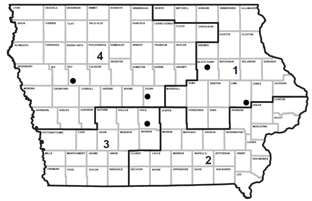 Iowa Redistricting: New Maps Are Out