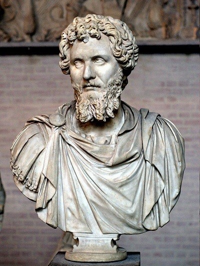Bust of Septimius Severrus from Munich