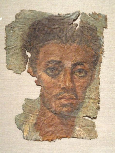 Mummy Portrait from the Museum of Cleveland