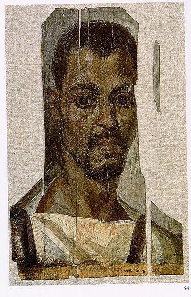 Mummy portrait from Fayum
