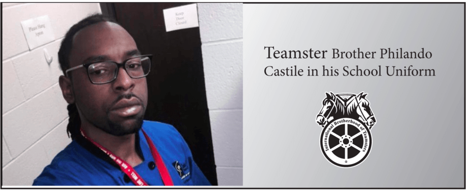 Philando Castile, a St. Paul school cafeteria supervisor, in his uniform