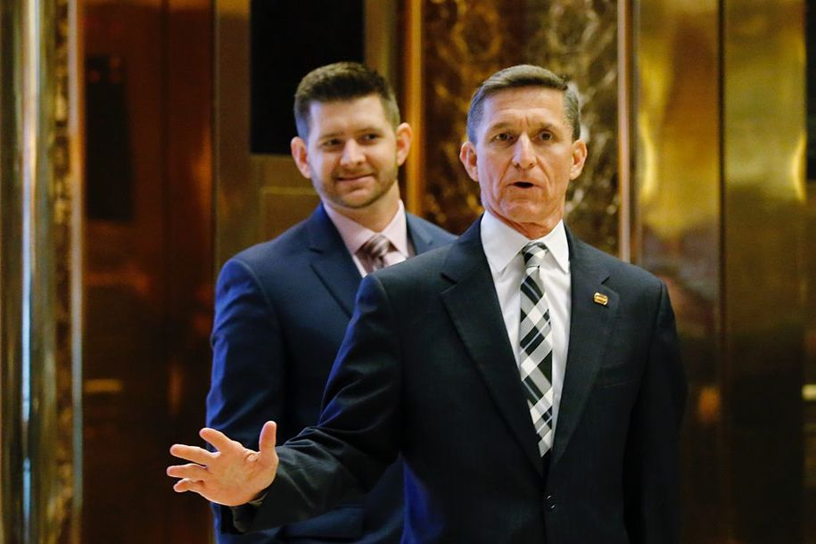 Image result for photo of gen michael flynn and son