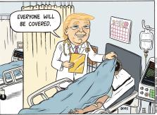 Afbeeldingsresultaat voor usa health insurance cartoon