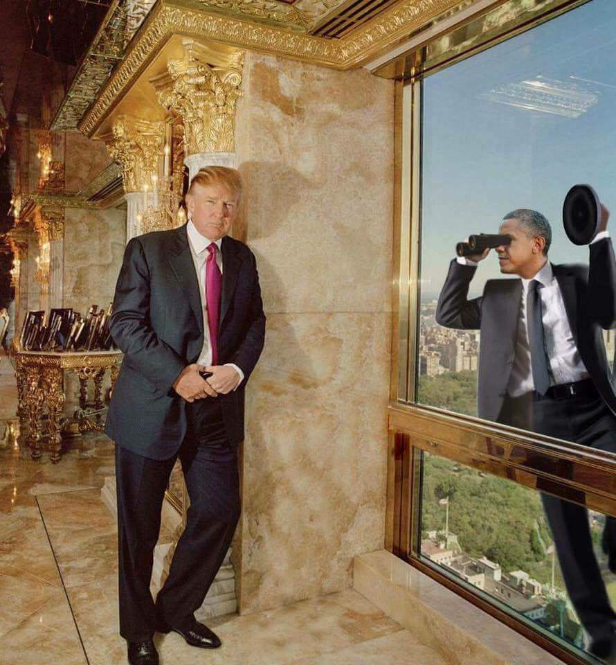Image result for obama spying on trump
