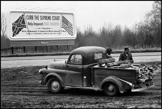 1950s Billboard: Curb the Supreme Court: Help Impeach Earl Warren