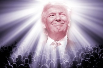 Image result for trump god
