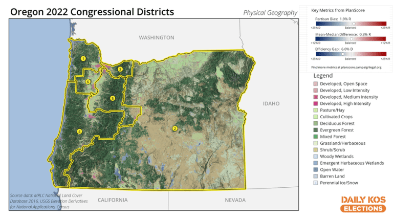 We have new data for Oregon's new house map, the first in the nation this decade