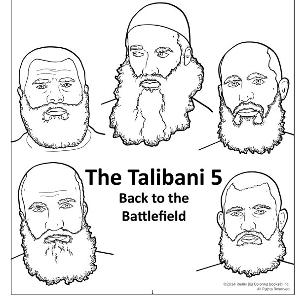 Anti-terrorist colouring books re-released to educate kids