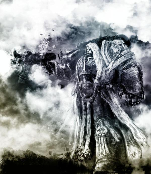 Artwork Dark Angel Space Marine Angels Warhammer