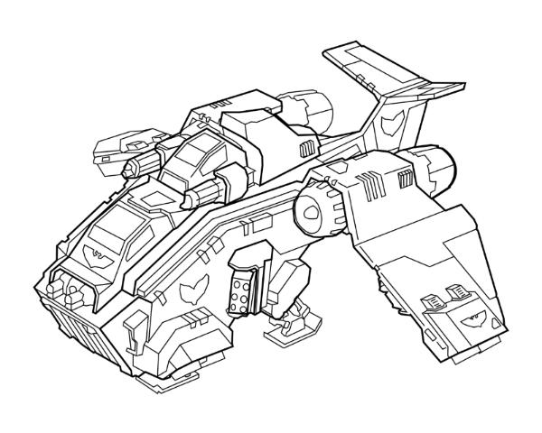 Warhammer 40k Coloring Pages