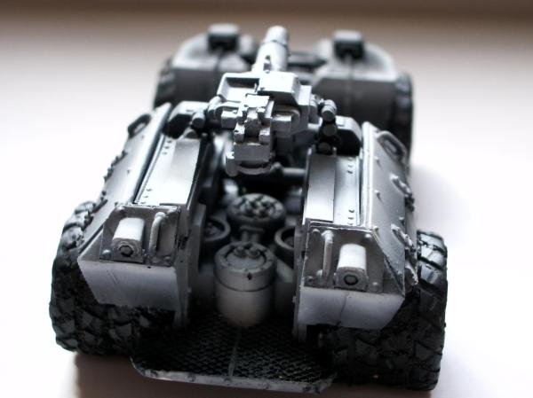 Airbrush Forge World Halo Imperial Guard Unsc Warthog