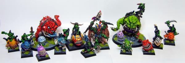 Airbrush Cave Gobbo Goblins Mangler Orcs Orks