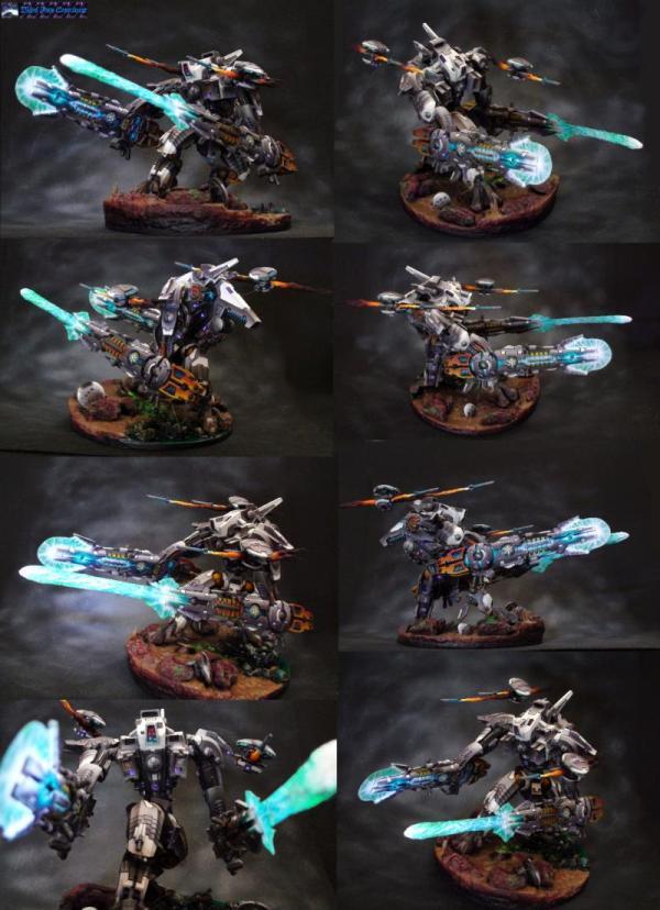 Warhammer 40K Miniatures Tau