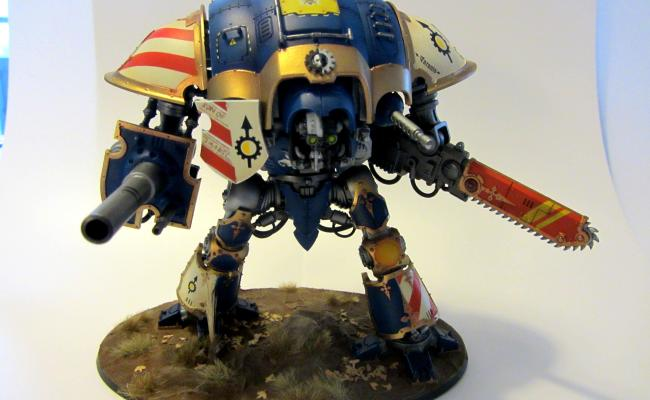 Airbrush Games Workshop Imperial Knight Paladin