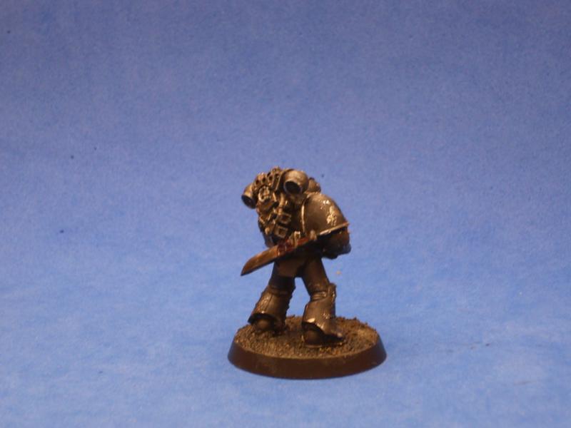 Iron Hand Veteran with Plasma Gun
